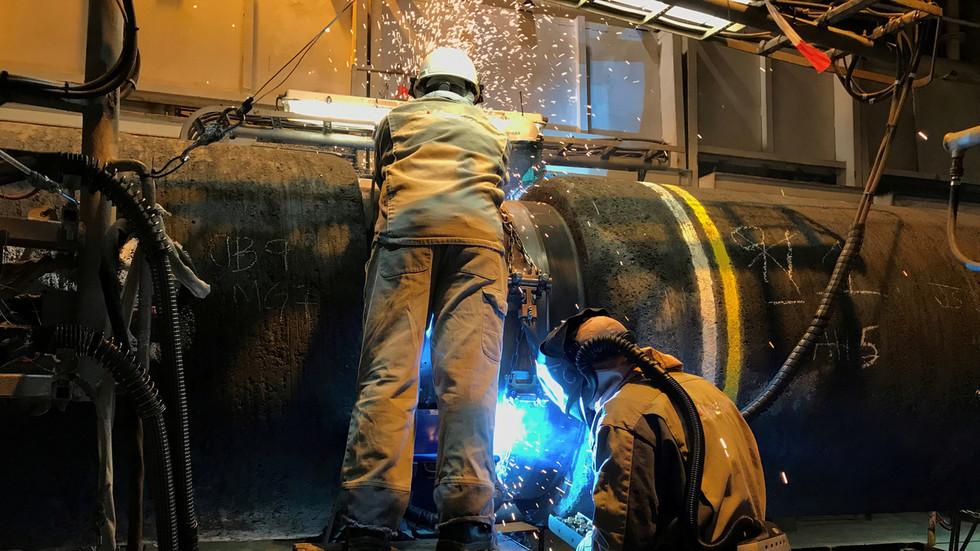 """РТ: Компанија која полаже цеви за """"Северни ток 2"""" повлачи бродове из Балтичког мора"""