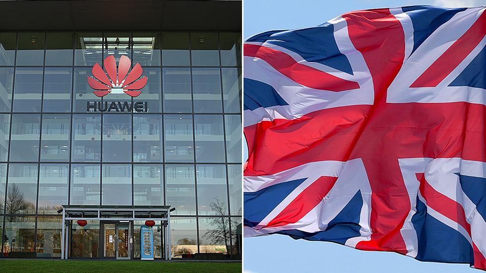 """РТ: Лондон забранио технологију """"Хуавеја"""" за 5Г мрежу, те да техника компаније мора бити избачена до 2027. године"""