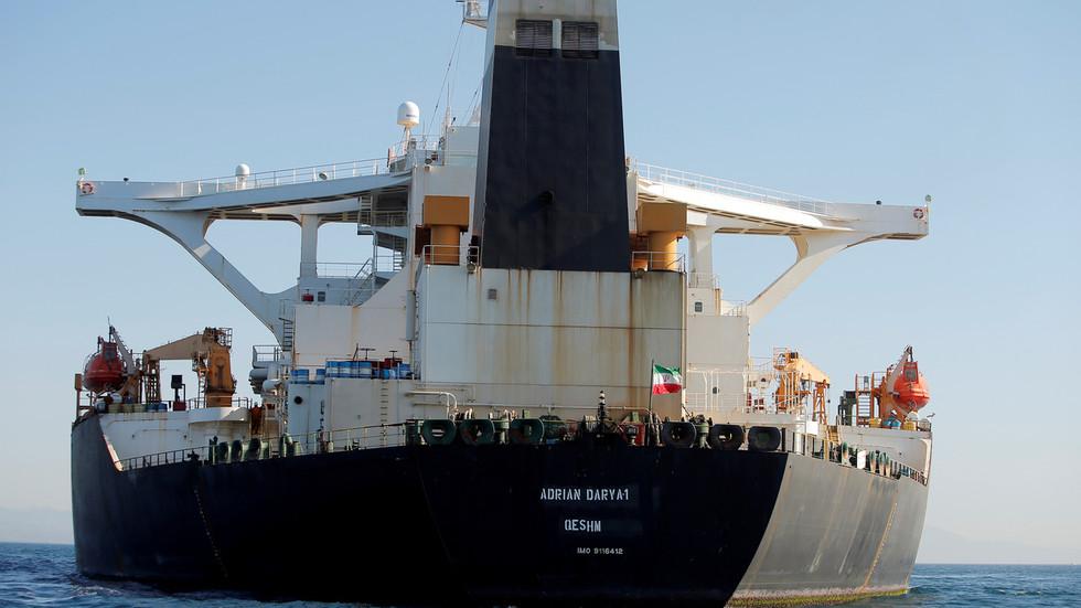 """РТ: САД потврдиле """"највећу заплену иранске нафте икада"""" на четири танкера који су ишли за Венецуелу"""