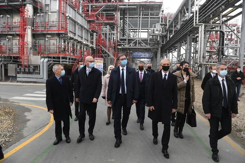 Свећано пуштено у рад ново постројење у Рафинерији нафте Панчево