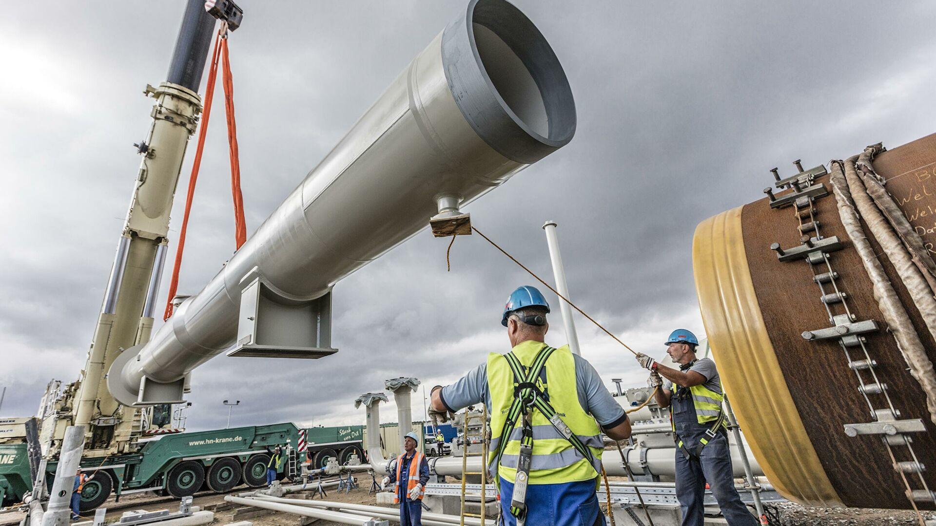 """Немачка одбацује санкције према пројекту гасовода """"Северни ток 2"""""""
