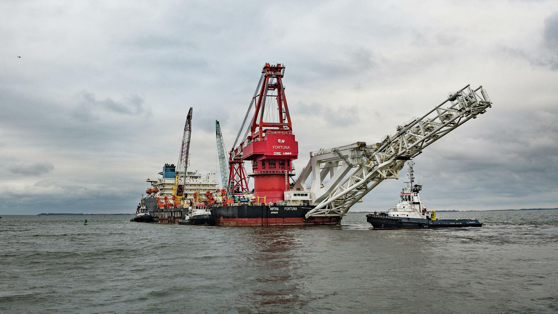 """САД ставиле на санкциони списак брод """"Фортуна"""" за полагање цеви """"Северног тока 2"""" и фирму """"КВТ-РУС"""""""