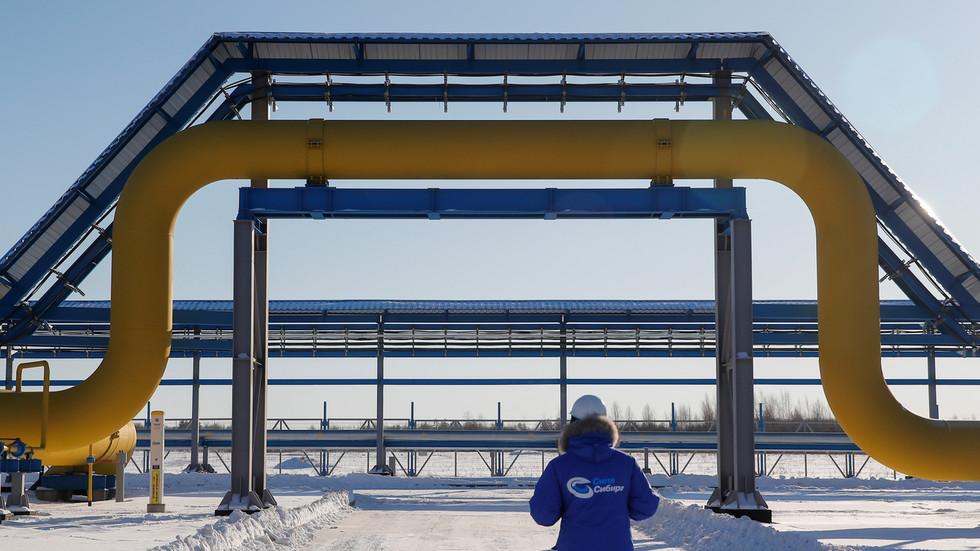 "РТ: Русија утростручила испоруке гаса Кини гасоводом ""Снага Сибира"""
