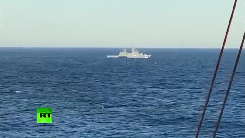 """РТ: Ратни бродови и подморнице улазе у зону гасовода """"Северни ток 2"""" у """"планираним и припремљеним провокацијама"""" да ометају рад, наводи оператер пројекта"""