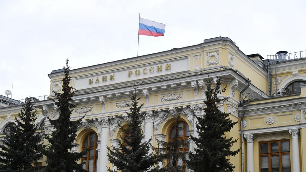 """РТ: Америчке санкције Москви су """"трајни ризик"""", али националне резерве могу издржати све, наводи гувернер Централне банке Русије"""