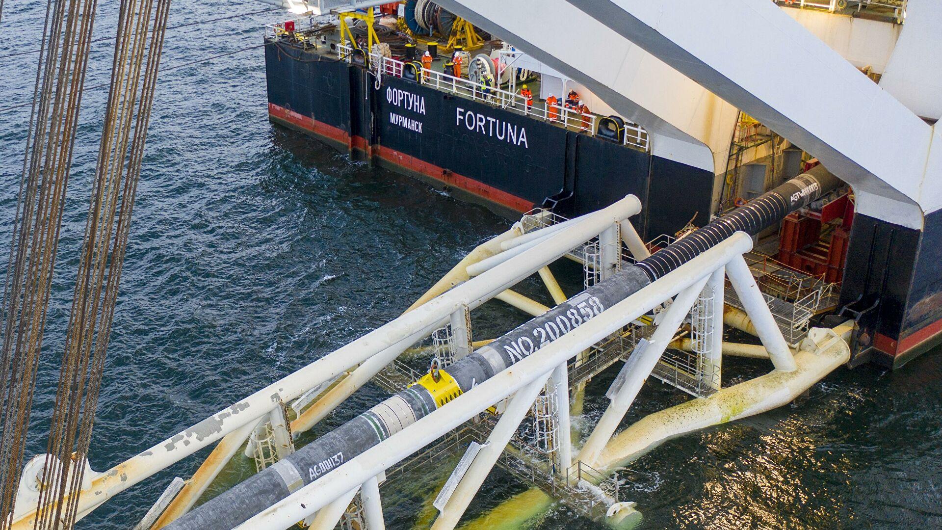 """Izgradnja gasovoda """"Severni tok 2"""" u potpunosti završena"""
