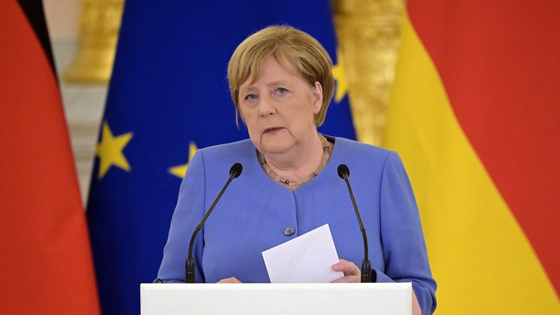 Меркелова сматра да Европа не наручује довољно гаса из Русије