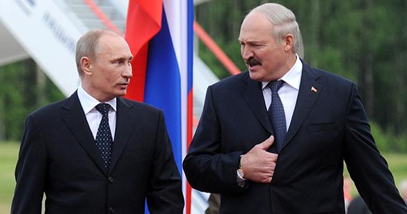 Путин и Лукашенко договорили исту цену за гас