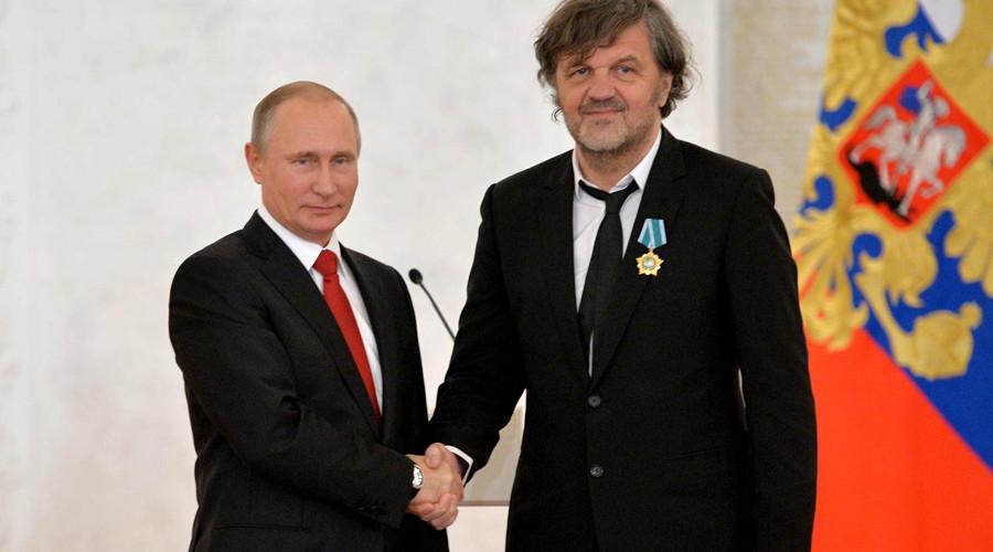 Кустурица за РТ: Путин је господин који је вратио Русију на ноге