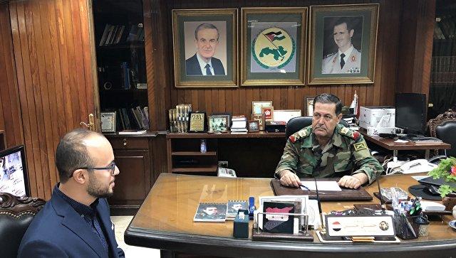 Sirijski general: Damask ima pravo da se bori protiv američkog vojnog prisustva svim sredstvima