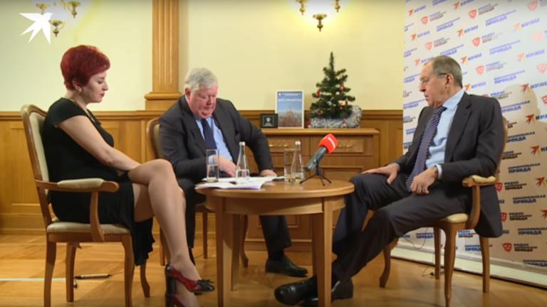 """RT: """"Nećemo ratovati s Ukrajinom, obećavam"""": Jedan od najžustrijih intrvjua u Lavrovoj karijeri?"""