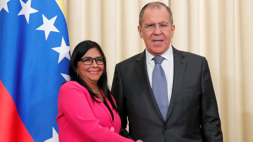 РТ: Венецуела ће се борити против санкција, а Гваида чека кривично гоњење - Делси Родригез