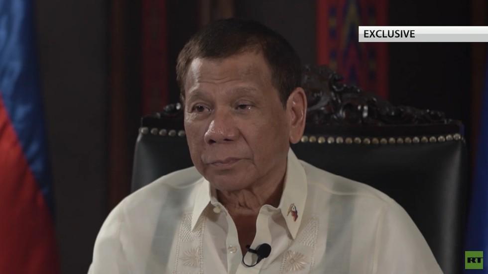 """RT: """"Želim da otvorim nove frontove sa Rusijom i Kinom dok su SAD živele od kajmaka naše zemlje"""" - Duterte"""