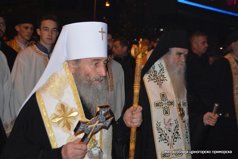 Митрополит кијевски Онуфрије: У Црној Гори и Украјини политичари се мијешају у црквене послове, хоће да управљају црквом и хоће да искористе Цркву у своје интересе