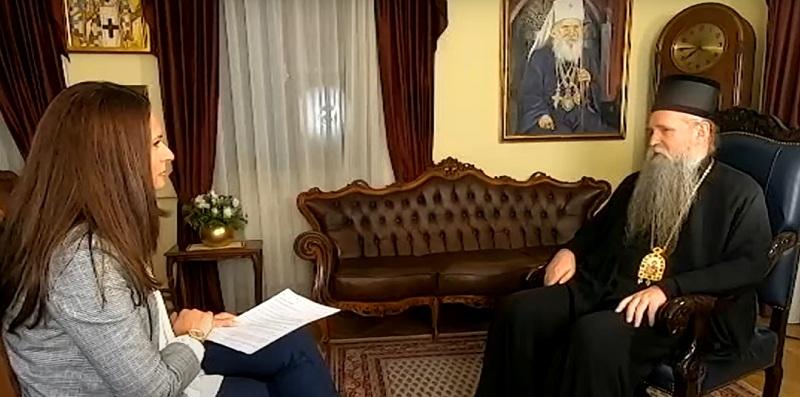 Митрополит Јоаникије за РТС: Не знам да се бавим политиком, цијелога живота бавио сам се само Црквом