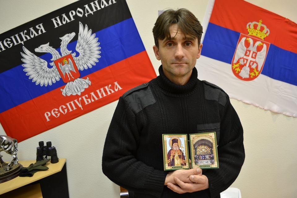 Интервју са капетаном Војске Доњецке Републике Дејаном Берићем