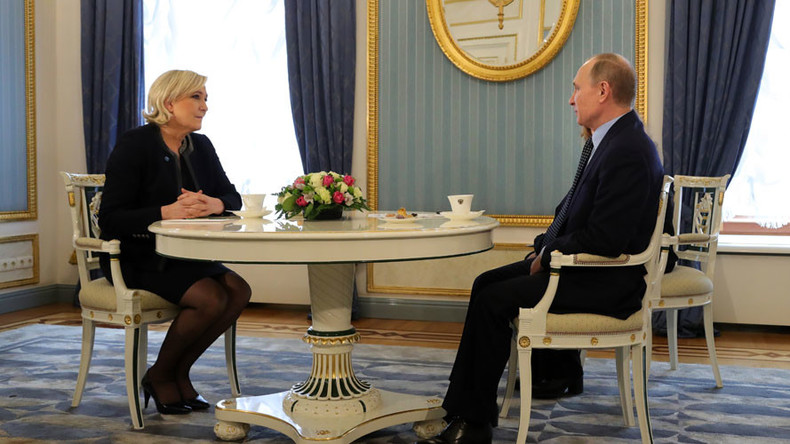 Ле Пенова: Пре свега треба унапређивати сарадњу Француске и Русије