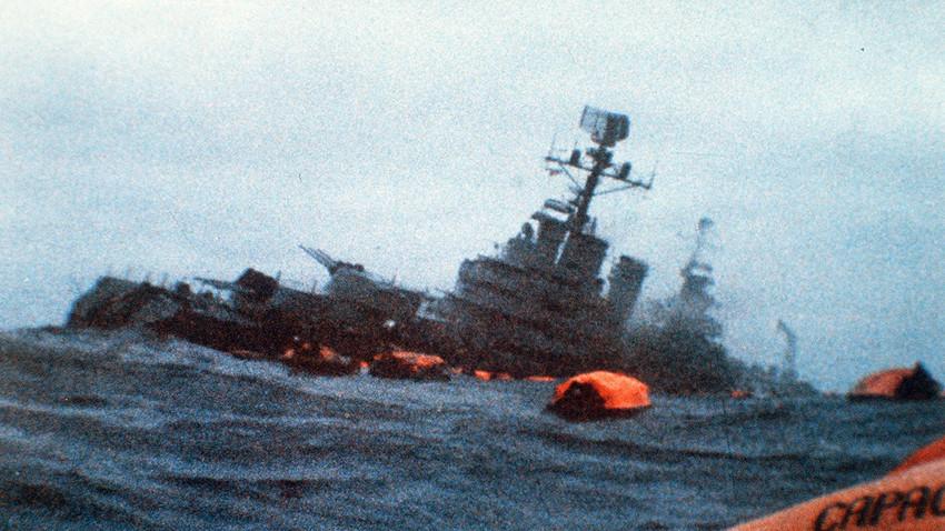 """Совјетски брод који је притекао у помоћ аргентинском """"Генералу Белграно"""""""