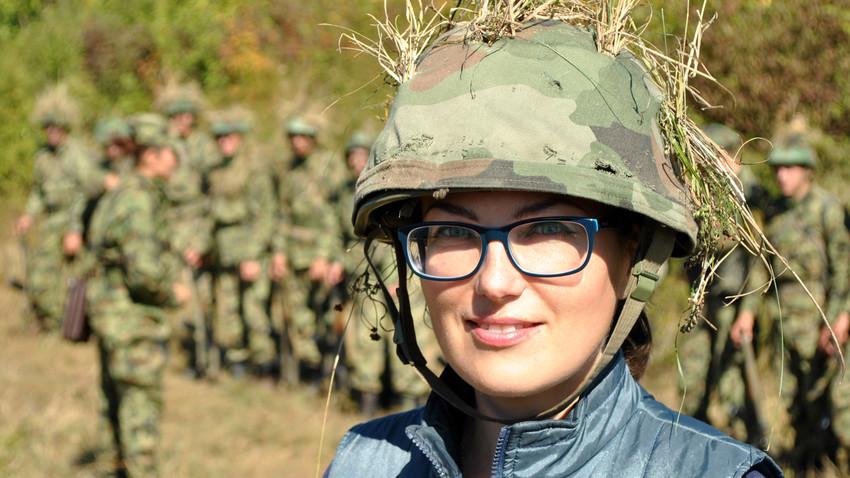Како је једна Рускиња провела дан у србској војсци