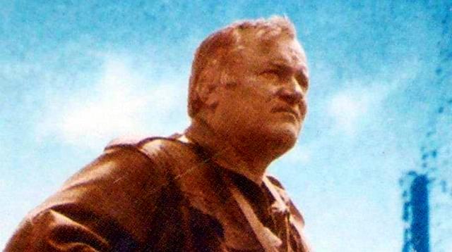 Србски генерал Ратко Младић
