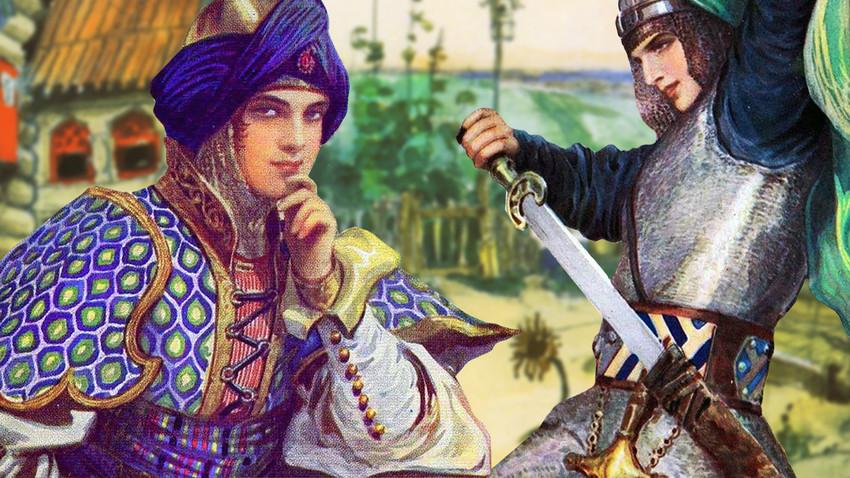 Чврста женска рука: Јунакиње руског фолклора моћније од витезова