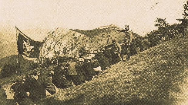 Мојковачка битка - Бадњи дан и Божић 1916. године