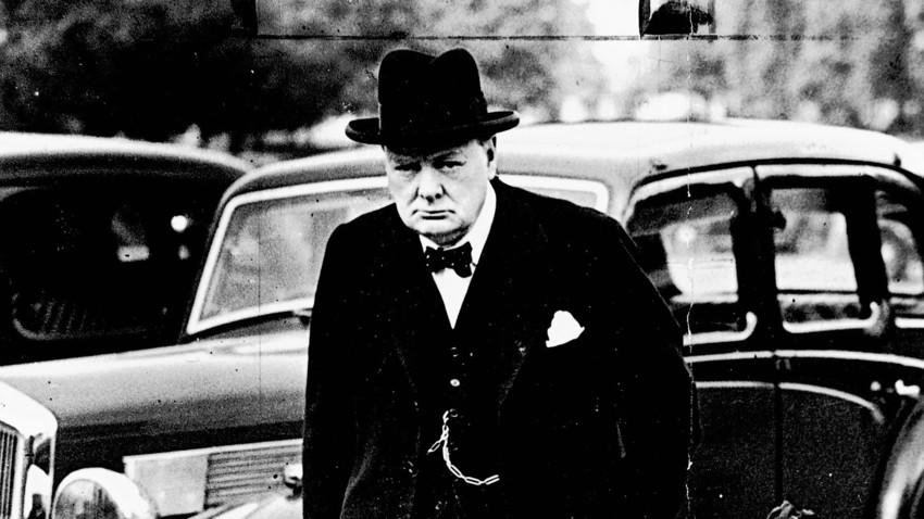 Черчил и Стаљин: Рогови у врећи против заједничког непријатеља