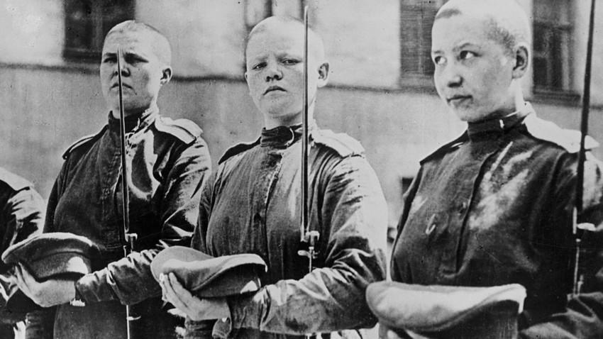 """Зашто су Рускиње формирале женске """"батаљоне смрти"""" у Првом светском рату?"""