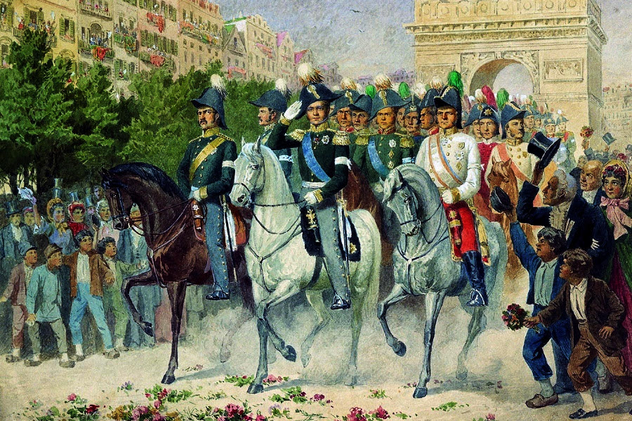 Sjećanje na rusku okupaciju Pariza