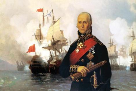 Руси у Боки Которској: Храбри адмирал Сењавин