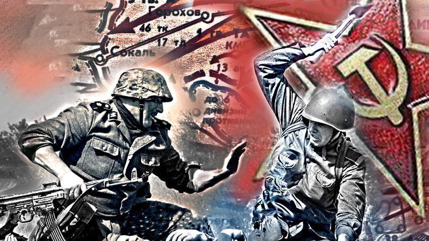 """Шести Стаљинов удар: Како је Црвена армија уништила 14.СС добровољачку дивизију """"Галичина"""