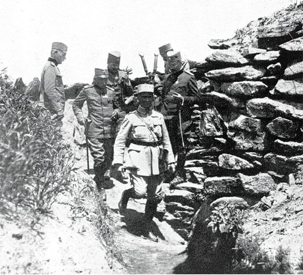 Dobrovoljci stižu na Solunski front