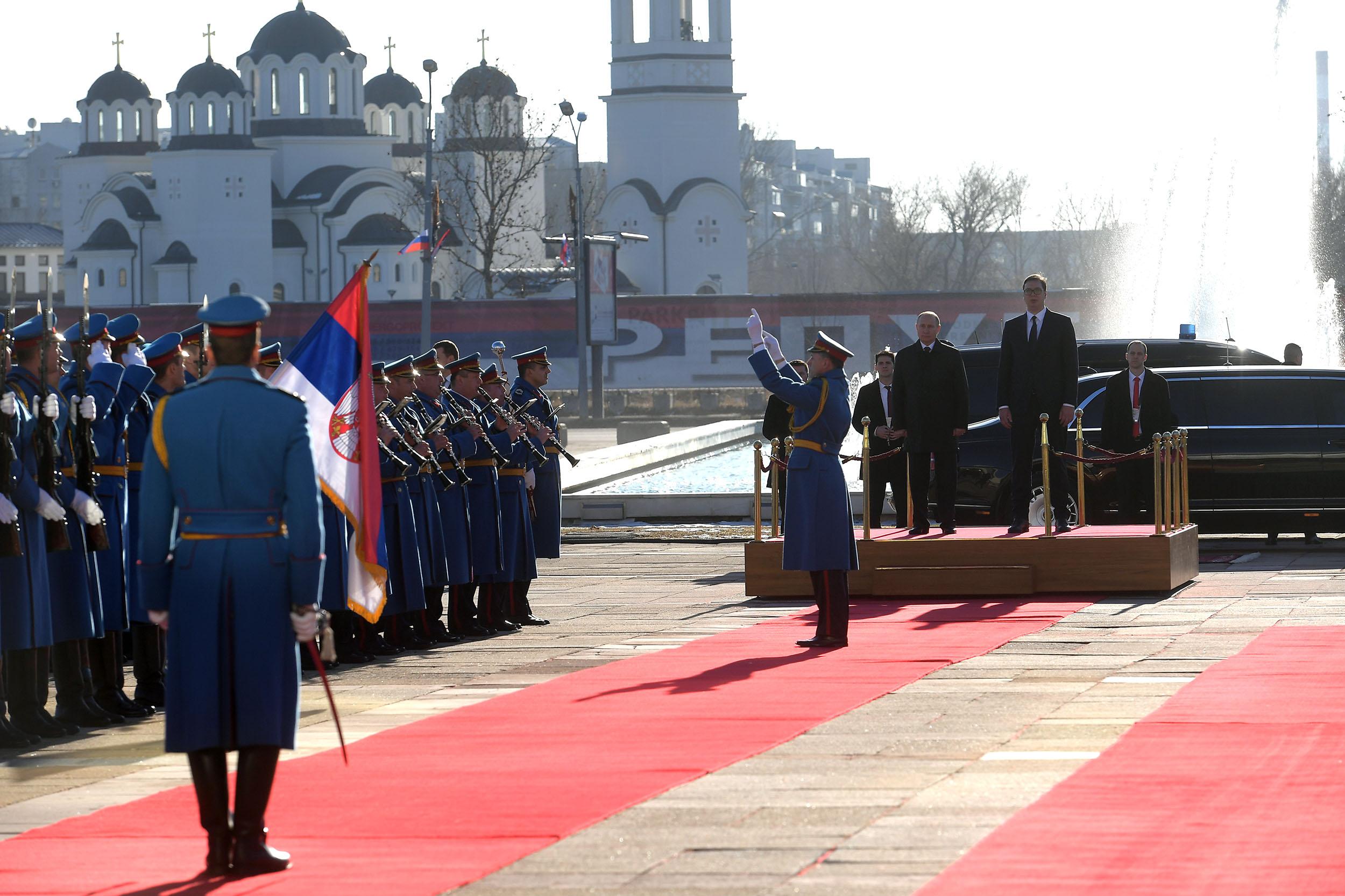Србија - последњи цивилизацијски савезник Русије
