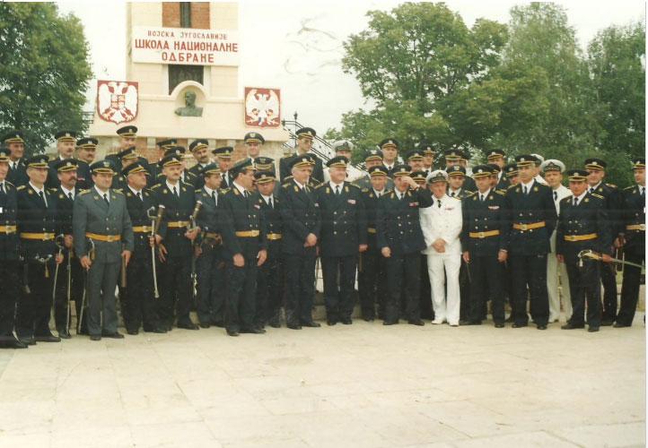 Школа националне одбране у рату – на бранику отаџбине