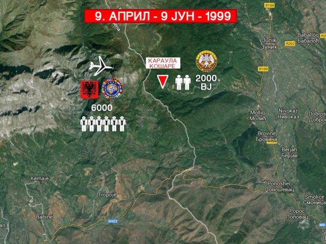Kopnena agresija NATO je izvršena - kontraadmiral Boško Antić