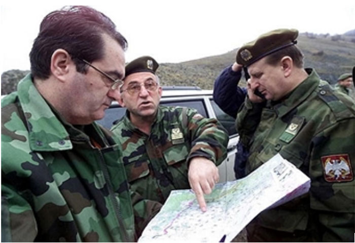 Паштрик –  гробница и споменик хероја: Из ратног дневника команданта Треће армије
