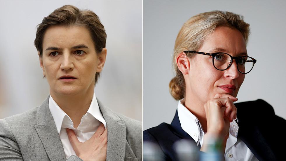 РТ: Либерални медији збуњени: Отворено геј настројени Брнабићева и Виделова више воле напоран рад него агресивне кампање