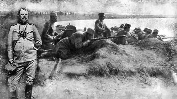 Mајор Драгутин Гавриловић: Војници! Јунаци!