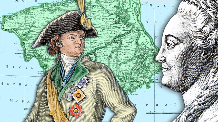 Kako je Krim postao deo Ruske imperije?