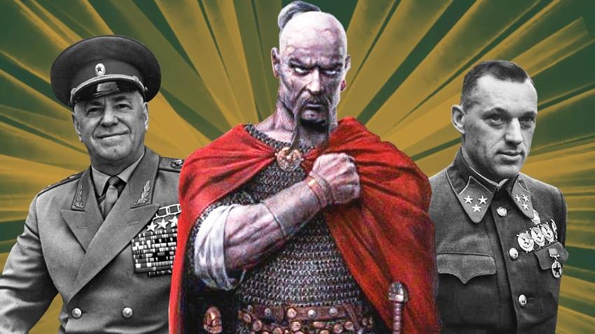 Десет великих војсковођа од оснивања Русије до данас