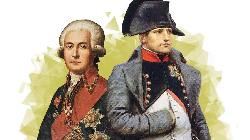 Како је Наполеон хтео да служи у руској армији али је одбијен
