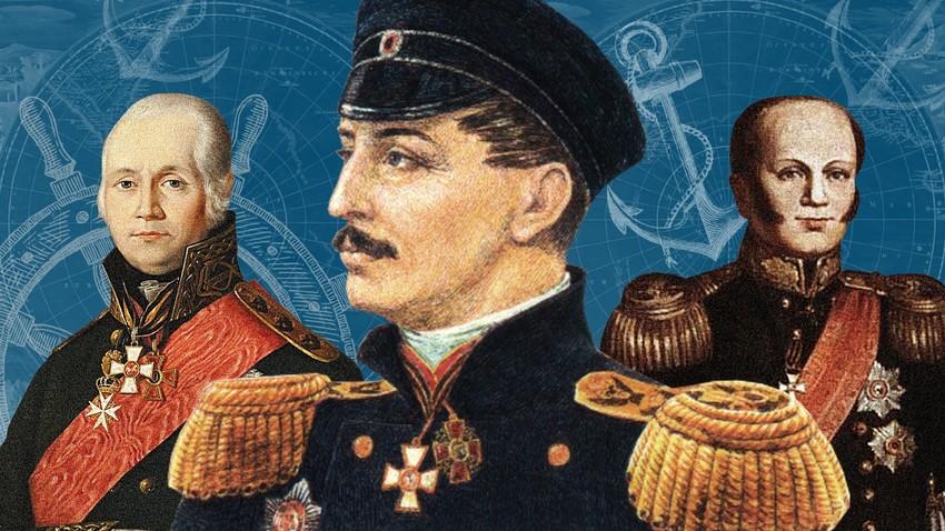 """""""Турску флоту смо разбили, на небо послали, у пепео претворили"""": Пет несавладивих руских адмирала"""