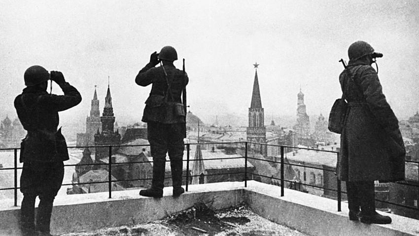 """Kako su Rusi učinili Kremlj """"nevidljivim"""" u Drugom svetskom ratu?"""