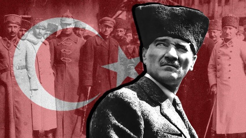 Како су бољшевици допринели настанку савремене Турске?