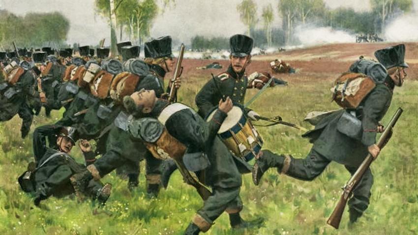 Које стране трупе су ратовале на страни Руске империје?