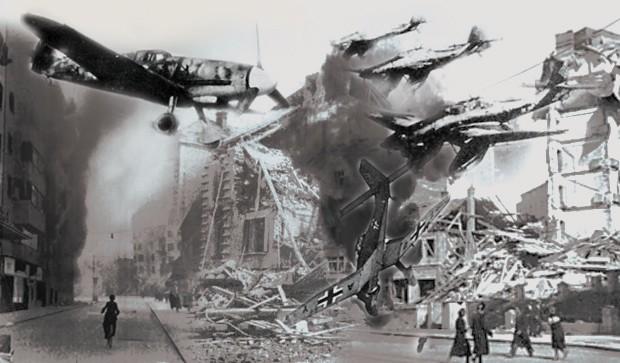 Dan kad je Beograd bio plamteća buktinja – jedan jugoslovenski pilot išao je na deset nemačkih
