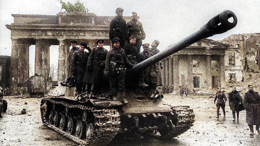 Колико пута су Руси заузели Берлин