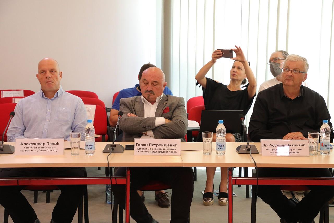 Павић: Време је за српску контраофанзиву по питању Сребренице