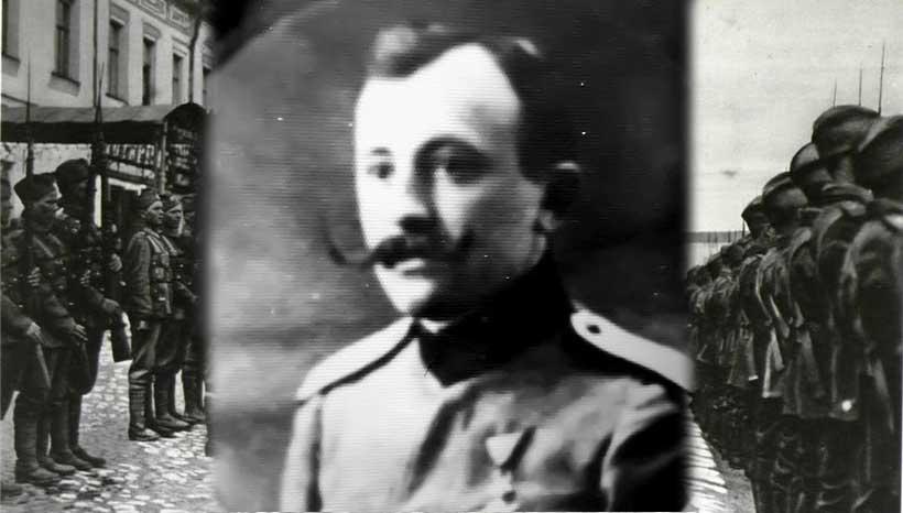 Матија Благотић - официр Србског добровољачког корпуса у Русији