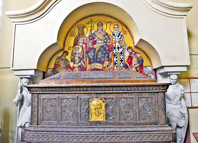 Васкрс када је крунисан србски цар